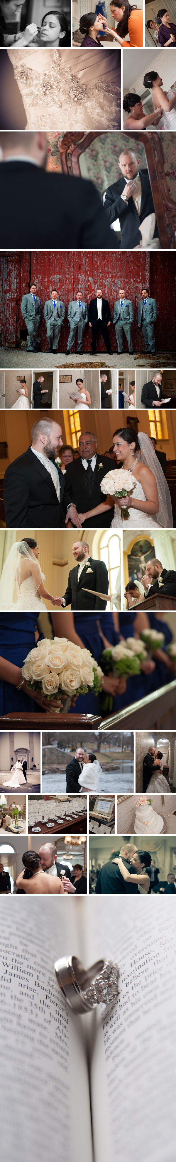 maryland wedding at Ceresville Mansion