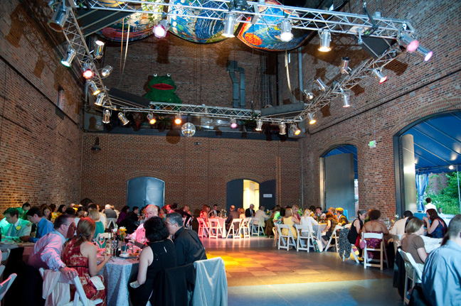 american visionary art museum wedding reception