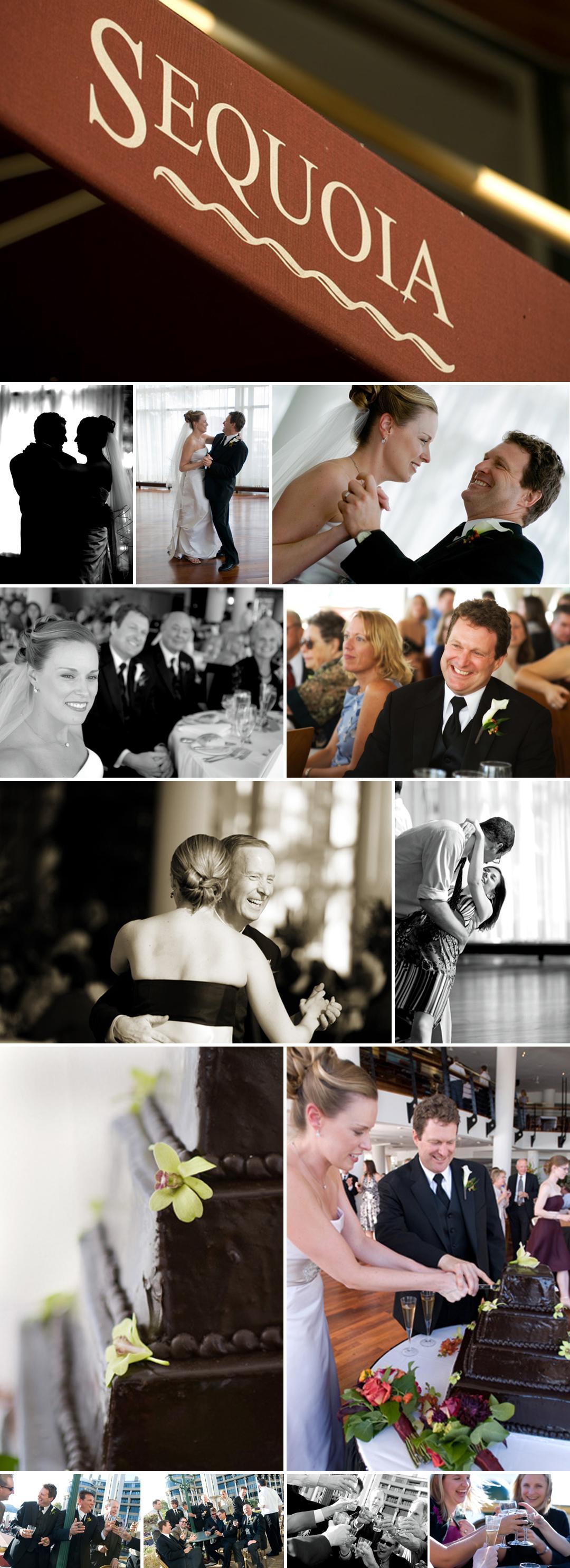 Sequoia Restaurant Georgetown Wedding