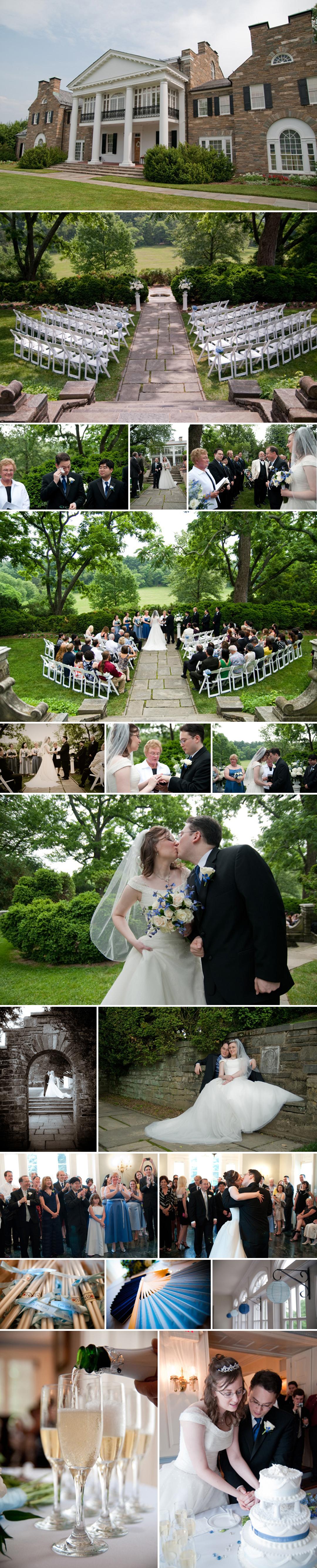 glenview mansion wedding photos
