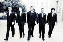 fun and casual groomsmen portraits by washington dc wedding photographers