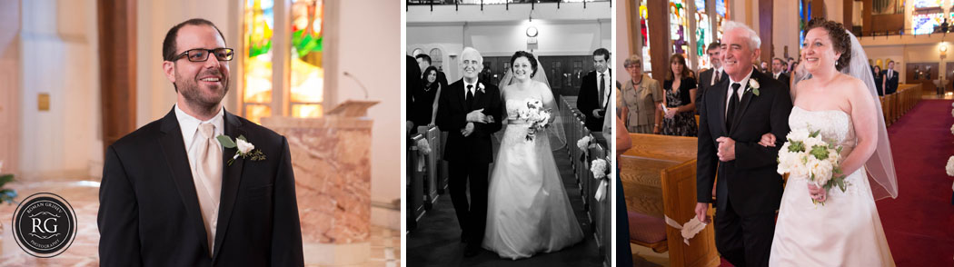 Maryland Wedding Photography at catholic church