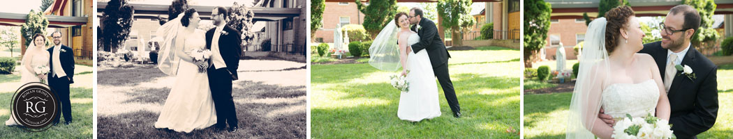 Maryland Wedding Photography of bride and groom portraits