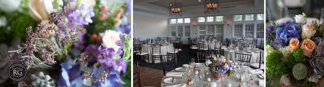 Chesapeake Bay Beach Club wedding reception details