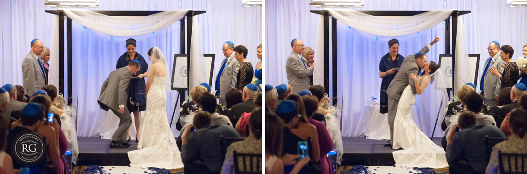 Jewish ceremony at Hyatt Regency at Crystal City