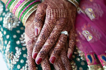 Maryland Indian wedding photography of indian henna