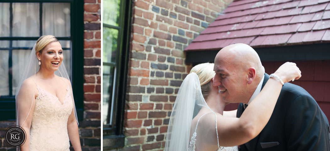 annapolis wedding photography first look