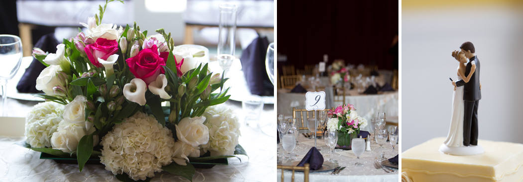 wedding details - reception at Foxchase Manor
