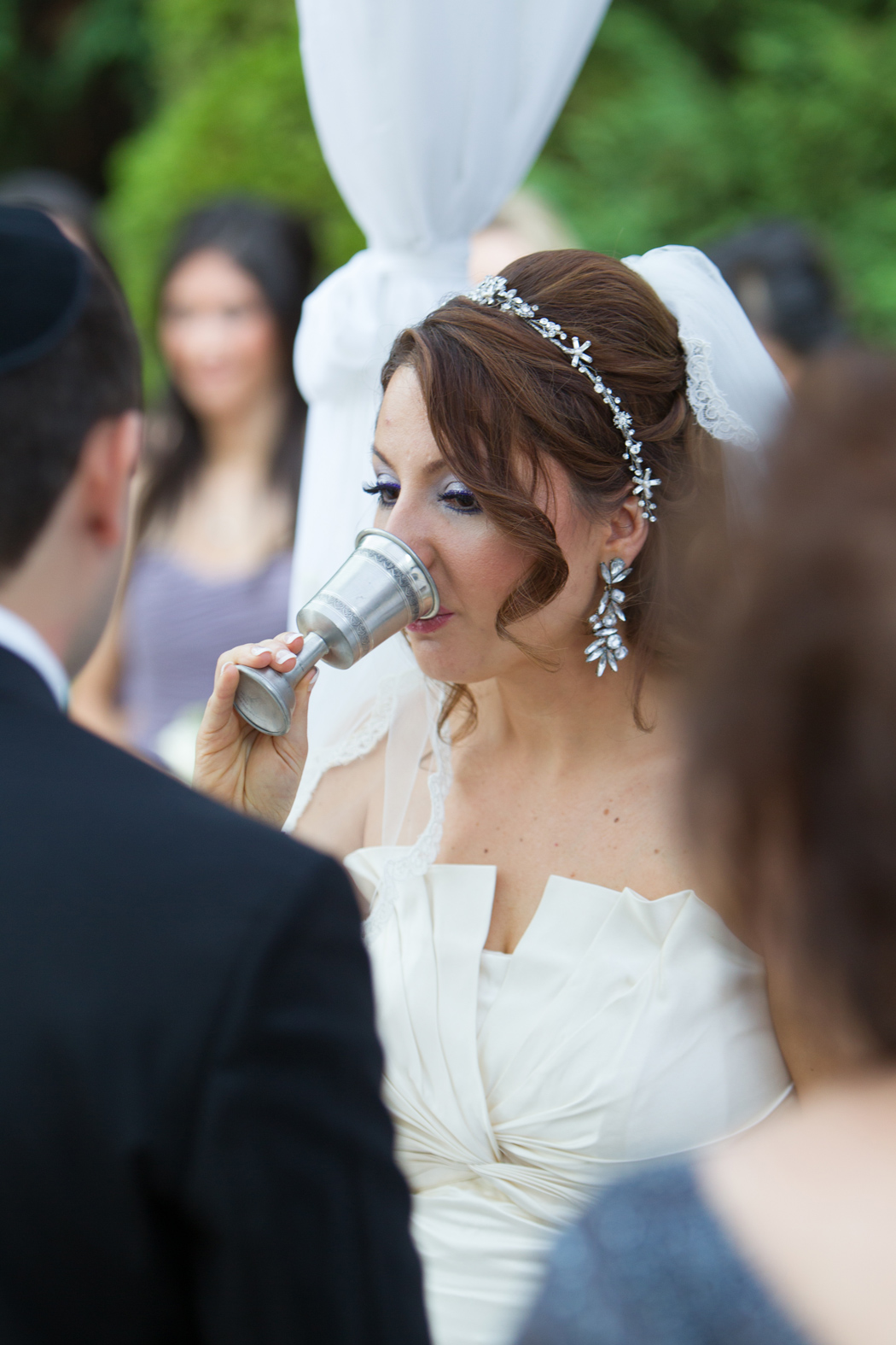Jewish ceremony at Foxchase Manor in Virginia