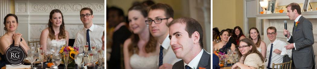 wedding reception at Josephine Butler Parks Center