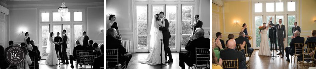 Josephine Butler Parks Center wedding ceremony