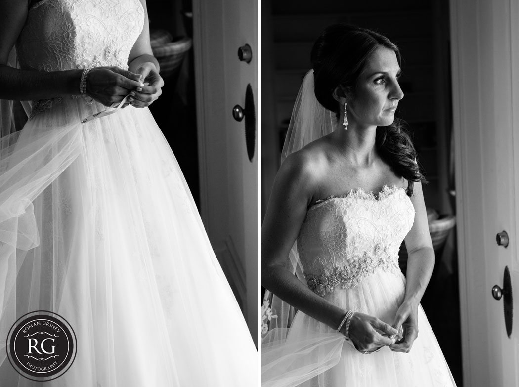 bride at Stepne Manor in Chestertown, Maryland