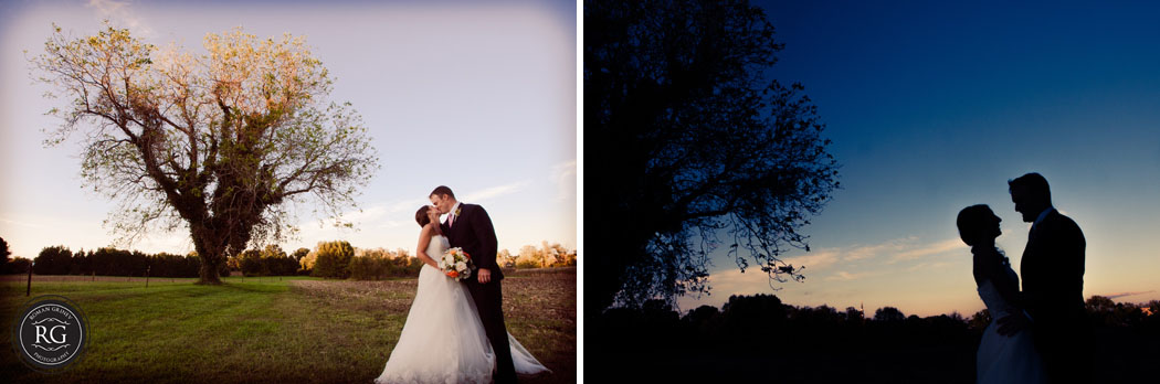 bride and groom portraits in Maryland's eastern shore