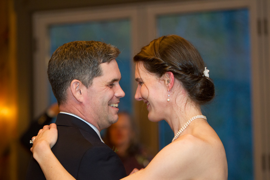first dance at a Frederick wedding