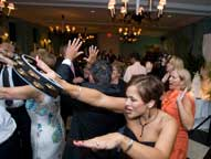 wedding reception dancing by maryland wedding photographers