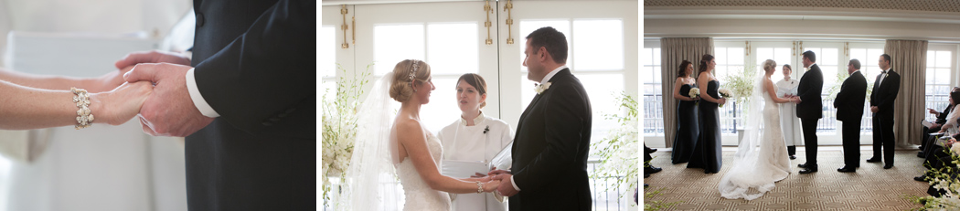 Laura Cannon performs wedding ceremony at Hay Adams Hotel Washington DC
