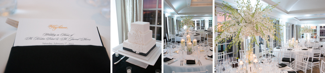 wedding reception at Hay Adams Hotel Washington DC