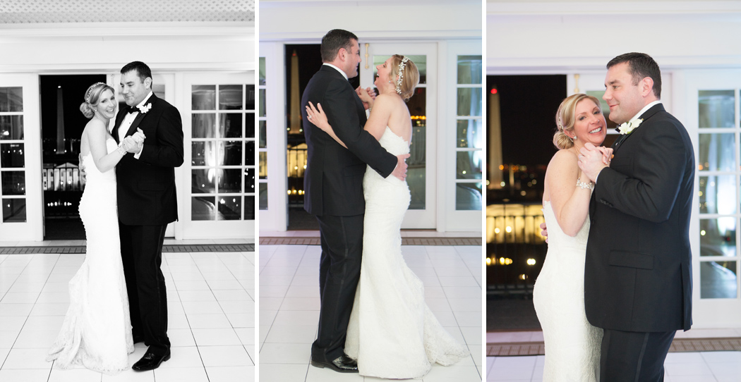 first dance at Hay Adams Hotel Washington DC