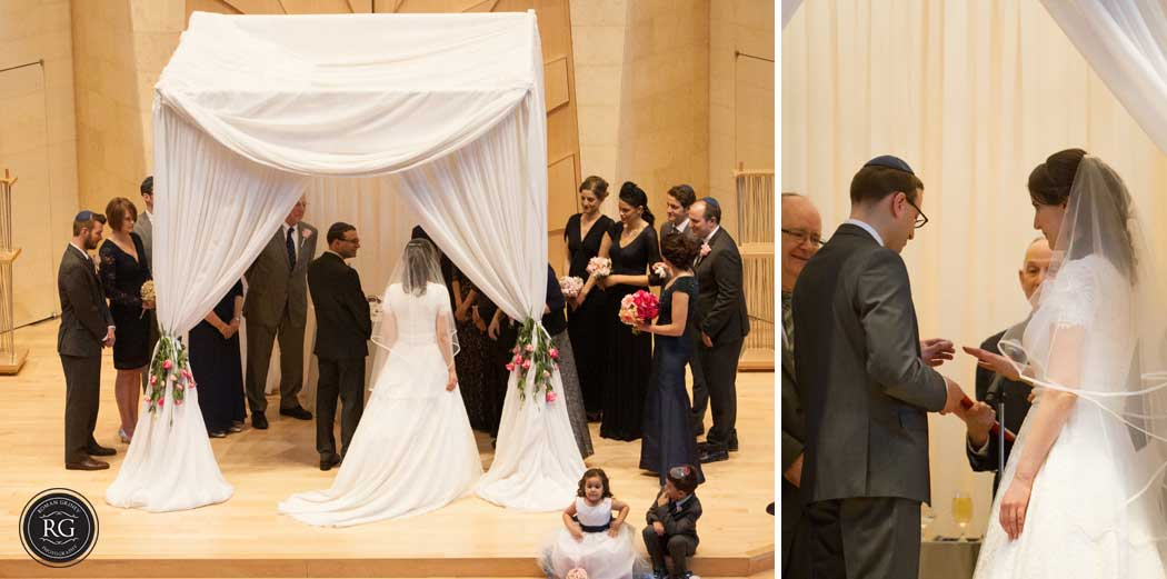 jewish ceremony at Adas Israel Synagogue, Washington, DC