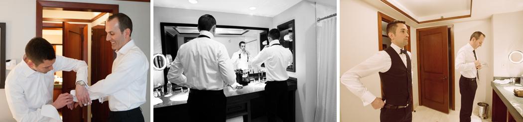 wedding getting ready at Ritz Carlton- Georgetown