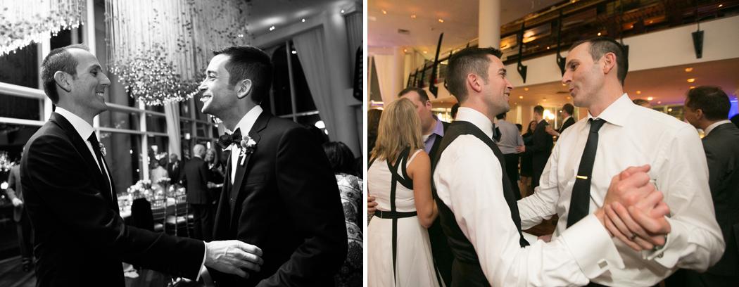 wedding reception at Sequoia Restaurant, Washington DC