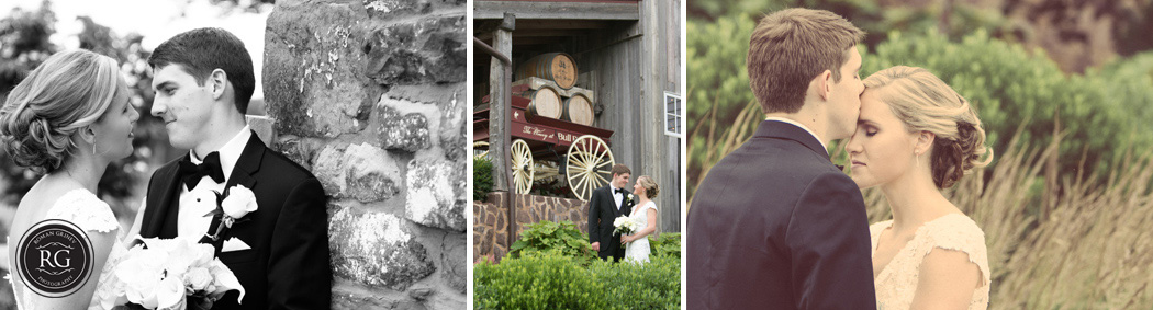 The Winery at Bull Run wedding portraits