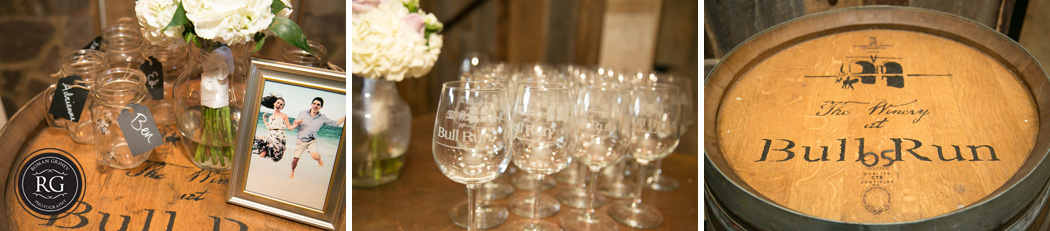 The Winery at Bull Run wedding details