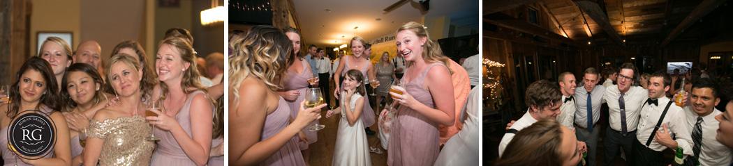 The Winery at Bull Run wedding reception