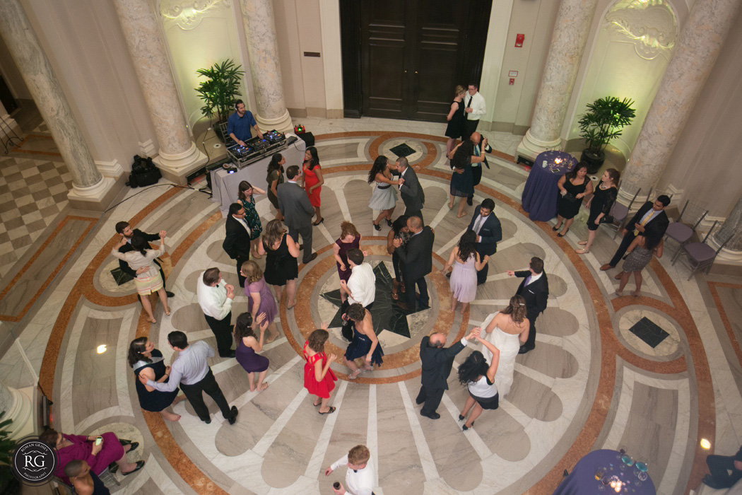 reception at Carnegie Institution for Science